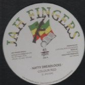 Colour Red - Natty Dreadlocks / I Am On A Mission (Jah Fingers) UK 12""
